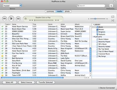 iPod to Mac transfer iPhone to Mac, transfer iPod to Mac