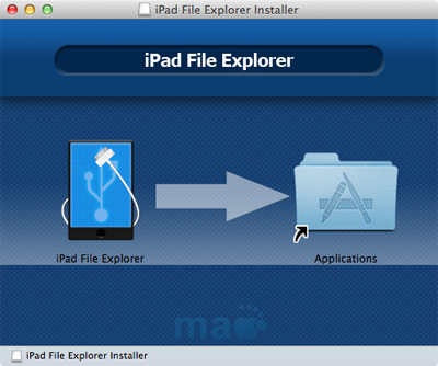 install ipad file explorer for mac