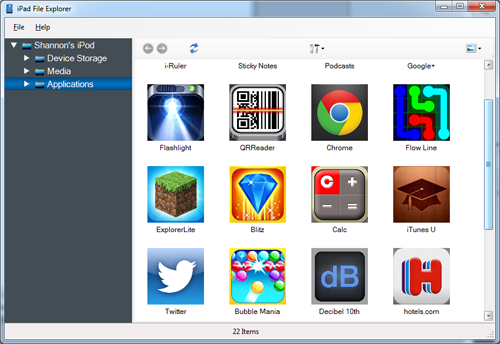 Use iPad File Explorer to Copy iOS Files