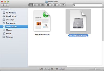 mount ipad file explorer for mac installer